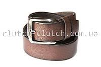 Ремень для джинсов LMi 35 мм коричневый