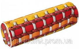 Пенал Zibi текстильный с рисунком, ZB16.0438