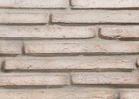 Кирпич ручной формовки Снежная королева длинноформатный (плинфа), фото 1