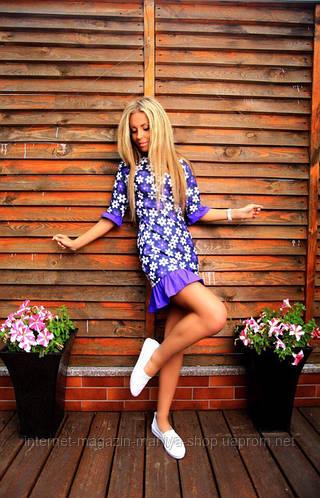 Платье женское, цветок