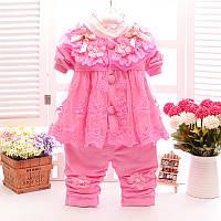 Розовый костюмчик для девочки , фото 1
