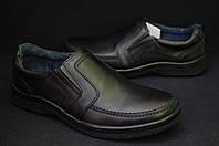 Мужские демисезонные туфли  комфорт размеры 39-47