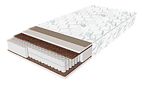 Матрас Extra Latex / Экстра латекс 800х1900х210мм ЕММ Sleep&Fly зима-лето кокос + латекс независимые пружины 130кг