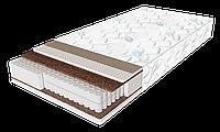 Односпальный матрас Extra Latex / Экстра латекс 90х190 ЕММ h21 Sleep&Fly зима-лето кокос + латекс независимые пружины 130кг