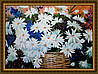 Картина в багетной раме Ромашки в корзине 300х400мм №653