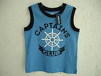 "Футболка-майка на мальчика Old Navy ""Капитан"""