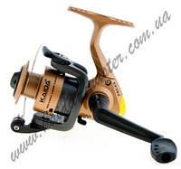 Безинерционная рыболовная катушка Kaida EF-202-2BB, катушка передним тормозом, катушка для спиннинга