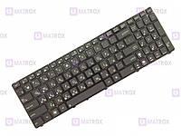 Оригинальная клавиатура для ноутбука Asus F52, F52Q, K50, K50AB, K50AD series, black, ru, подсветка