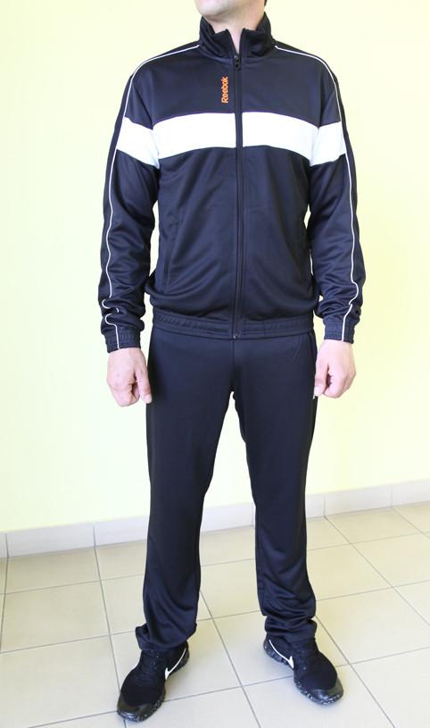 df5c7f0b Мужской спортивный костюм Reebok 9394 черный код 360 б - Интернет-магазин