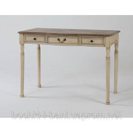 Письменный стол из массива ольхи, фото 2