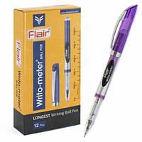 Ручка шариковая FLAIR Writo-meter (10км) синяя
