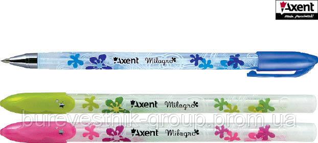 Ручка шариковая Axent Milagro синяя