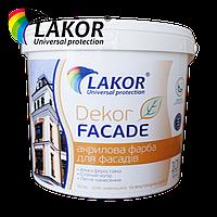 "Краска водно-дисперсионная Lakor ""Декор-фасад"" 10 л (15 кг)"