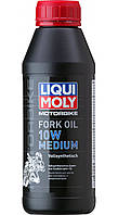 Масло для вилок и амортизаторов Liqui Moly Motorbike Fork Oil Medium 10W 500мл