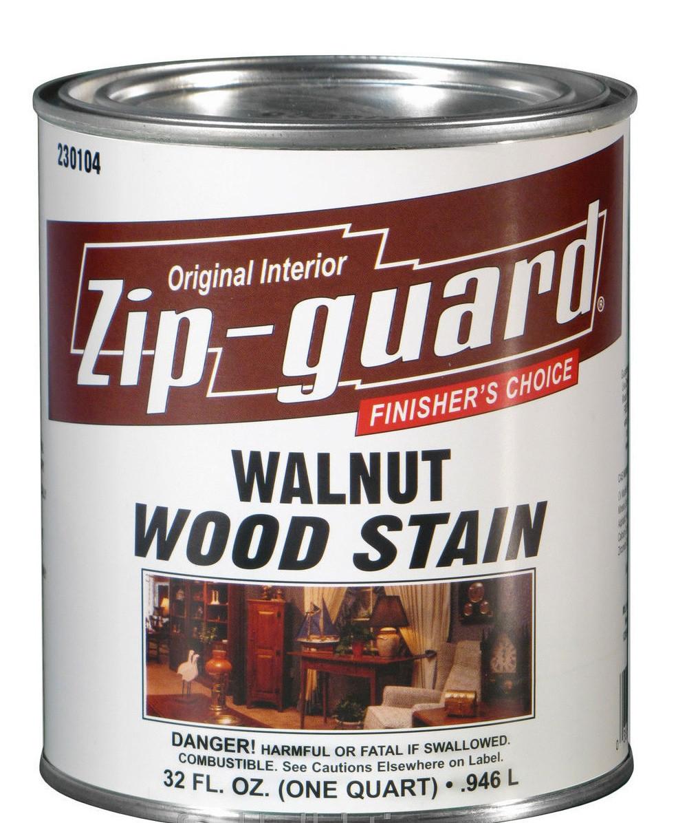 Морилка для дерева Zip-Guard WOOD STAIN (зип гард)-0,946л, мебель,пол,паркет,столярные изделия(США) - BMQ строительный маркет (опт/розница) в Киеве