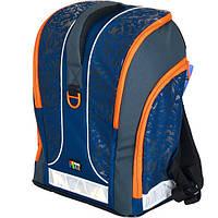 Школьный ортопедический рюкзак TIGER 31110B каркасный для мальчика