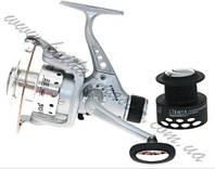 Катушка безинерционная Kaida CTR-403A-3BB, катушка передним тормозом, катушка для спиннинга кайда
