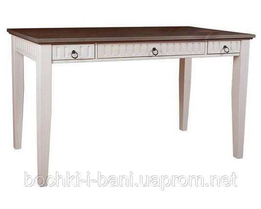 Письменный стол из массива дерева, фото 2