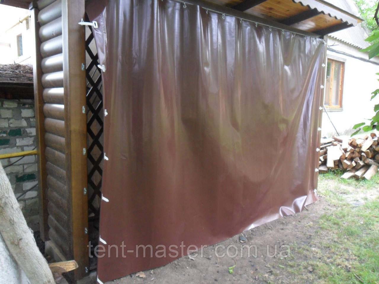 Завесы из ПВХ ткани для дров