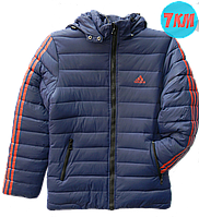 Мужские зимние куртки  адидас, р-р 48-56, синий