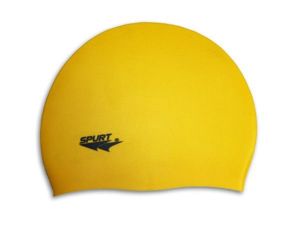 Шапочка для плавания Spurt Standart Yellow