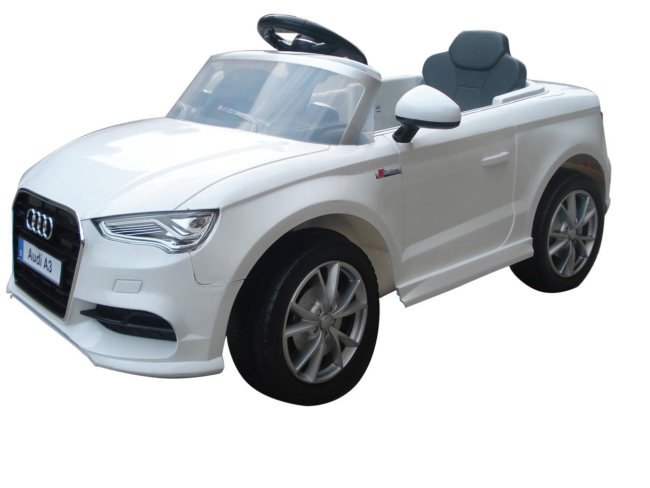 Детский электромобиль T-795 Audi A3 WHITE