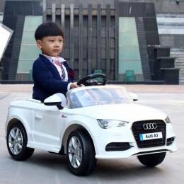 Детский электромобиль T-795 Audi A3 WHITE, фото 2