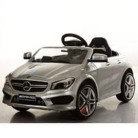 Детский электромобиль Mercedes BENZ M 3183 BRS-11: пульт 2.4G с экраном, радар. СЕРЕБРО- купить оптом