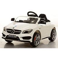 Детский электромобиль Mercedes BENZ M 3183 BR: 12V, пульт 2.4G с экраном, радар-Белый- купить оптом