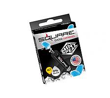 Оригинальные картриджи SQUARE для электронного кальяна  Mint spear (белая мята)