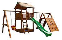Детская площадка Spielplatz Виланд Твин Свинг - монтаж в подарок!