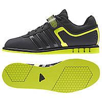 Штангетки Adidas PowerLift 2.0 (черные с салатовым)