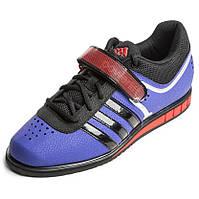 Штангетки Adidas PowerLift 2.0 (Темно-синие с оранжевым)