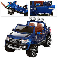 Детский электромобиль Ford Ranger M 2764 EBLRS-4: 12V 10А, EVA, 2.4G BlueTooth - BLUE PAINT-купить оптом , фото 1