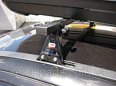 Автобагажник на гладкую крышу в штатные места Amos Astra (Амос Астра)