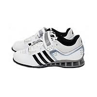 Штангетки Adidas AdiPower (белые) 44