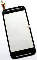 Сенсор (тач скрин) HTC Desire 608t black (оригинал)