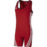 Трико для тяжелой атлетики Adidas Base Lifter (красное)