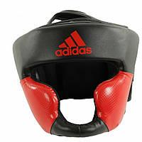Боксерский шлем Adidas Response New (черно-красный)