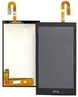 Дисплей (экран) + сенсор (тач скрин) HTC Desire 610 black (оригинал)