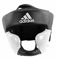 Боксерский шлем Adidas Response New (черно-белый)