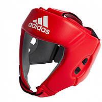ПОДАРОК! Боксерский шлем Adidas AIBA (красный)