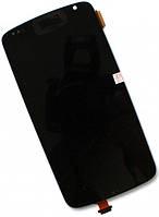 Дисплей (экран) + сенсор (тач скрин) HTC Desire 500, 506e Z4 black (оригинал)