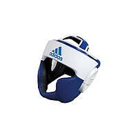 Боксерский шлем Adidas Response (сине-белый)