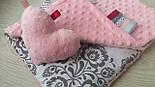 Плюш minky светло розового цвета., фото 6