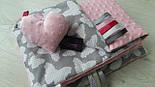 Плюш minky светло розового цвета., фото 7