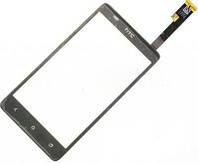 Сенсор (тач скрин) HTC Desire 400 black (оригинал)