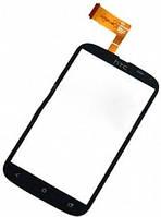 Сенсор (тач скрин) HTC Desire X T328e black (оригинал)