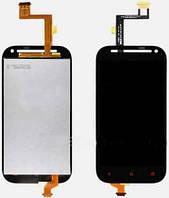 Дисплей (экран) + сенсор (тач скрин) HTC One SV C520e black (оригинал)