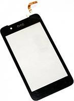 Сенсор (тач скрин) HTC Desire 210 black (оригинал)